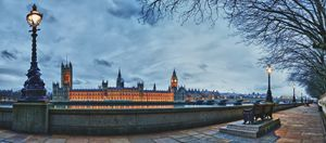 Houses of Parliament at Dusk - Gem Photography