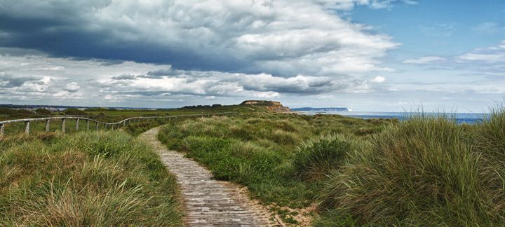 Footpath to Hengistbury Head - Gem Photography