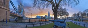 The Shard from Tower Bridge - Gem Photography