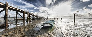 Boats at low tide - Gem Photography