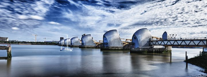 Thames Barrier - Gem Photography