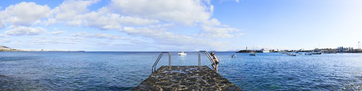 Steps to sea in Playa Blanca - Gem Photography