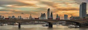 Waterloo Bridge at sunrise