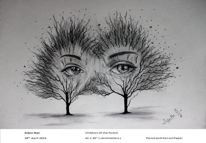 Children of the Forest - Arjun's Art