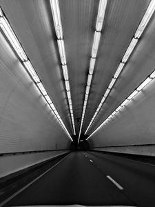 Tunnel B&W - Robin Lewis Gallery