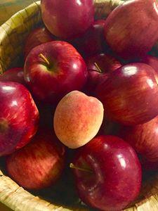 A Peach in Apples