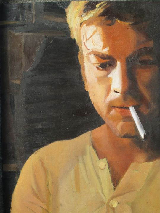 Portrait with cigarette. - Britmate.