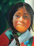 50x70cm child portrait