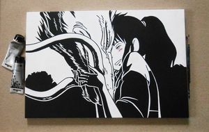 Spirited Away Original Acrylic
