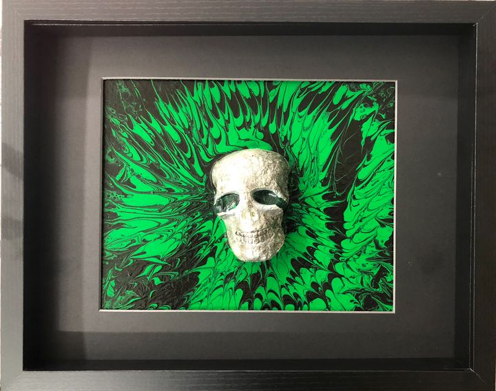 Abstract skull - Jolie Encre Collections