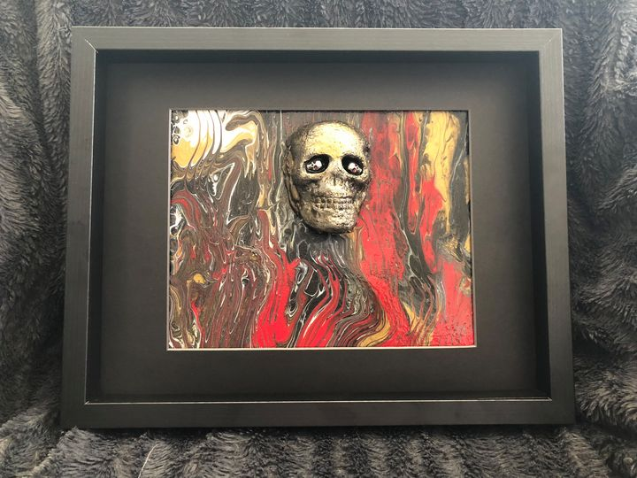 SkullAbstract1 - Jolie Encre Collections