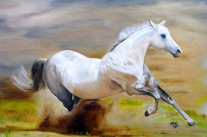 The White Horse - Noe Largueza Vicente