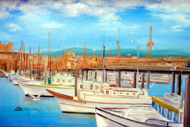 'A Day at the Port' - Noe Largueza Vicente
