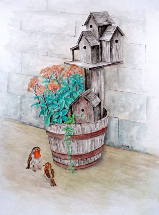'The Bird's House' - Noe Largueza Vicente