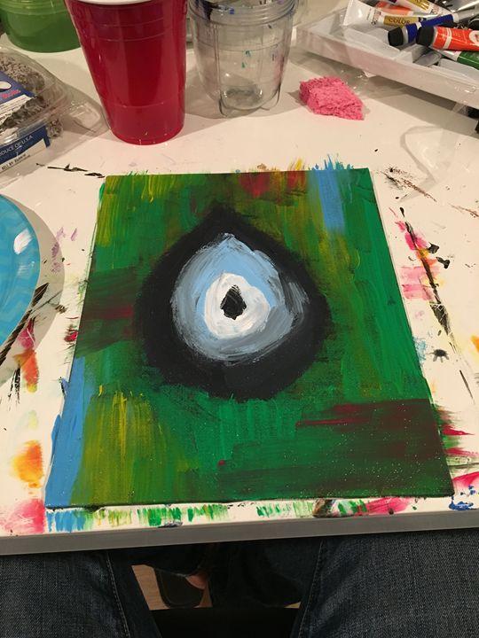 Evil Eye - Dev's Stress releasing paintings