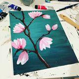 Original Painting- Magnolia