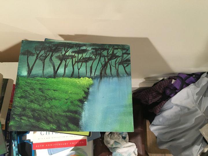 Serene Woods - Dev's Stress releasing paintings