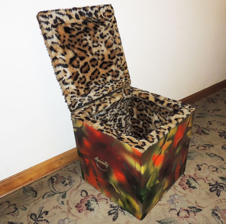 Cromag Fur Box #3 - Artwork of Frank Oblak