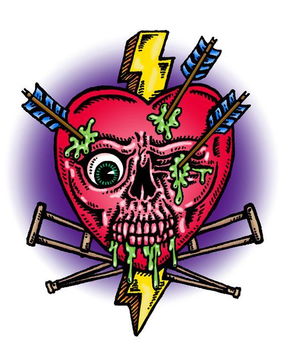 """You Broke My Heart"" - Artwork of Frank Oblak"