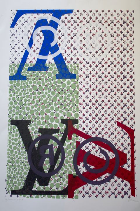 The Authentic Louis Vuitton III - Longpre Studios Gallery