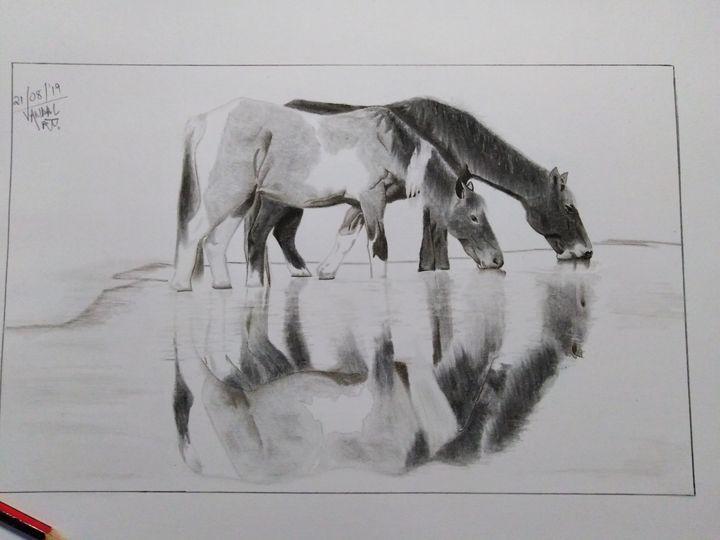 Horse power - airMaXe de Artist