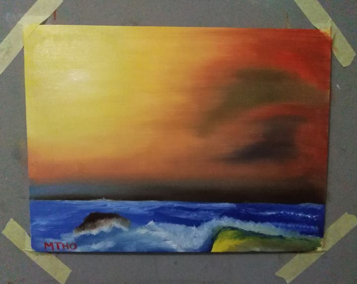 Sunset Scenery - airMaXe de Artist