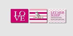 Three 8x10 Horse Prints