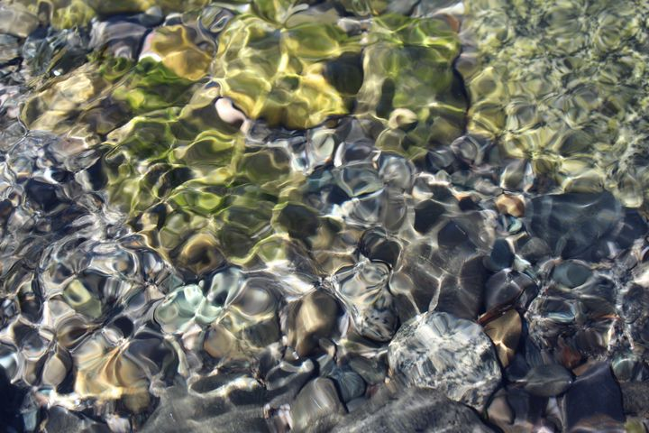Miniature Ripples - Vision Arts and Photography