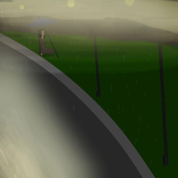 rainy night street - Life Overlord