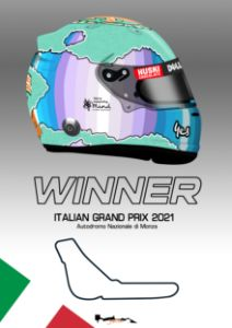 Daniel Ricciardo - Winner Monza 2021