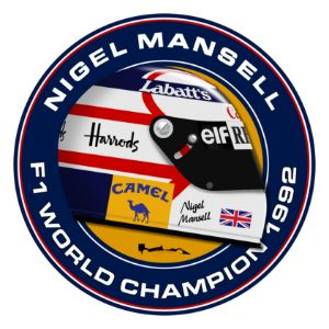 Nigel Mansell- 1992 Circle art