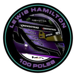 Lewis Hamilton - 2021 100 Poles