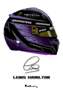 Lewis Hamilton, 2021, helmet, f1