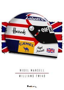Nigel Mansell - 1992 Fw14B