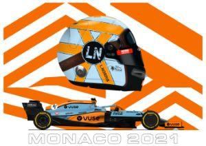 Lando Norris - McLaren Monaco 21