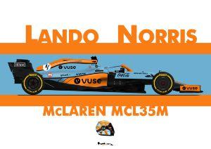 Lando Norris - McLaren Gulf
