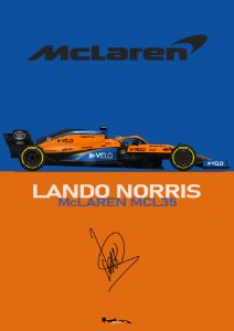 Lando Norris - McLaren MCL35M