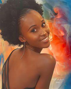 Lady-N Smiling - World of Beautiful Art SA