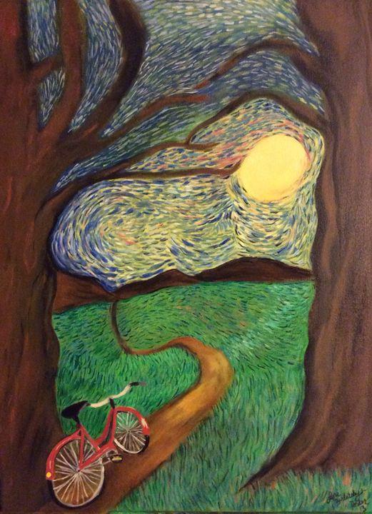 Getting Away - Lori Berlatsky-Porter's paintings