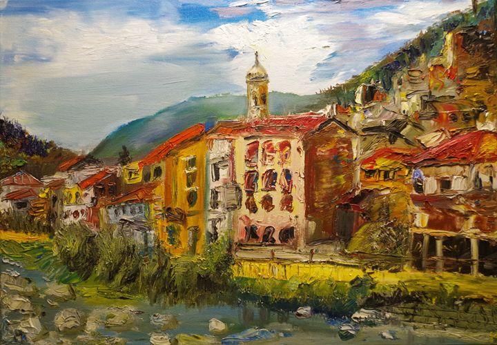 Mountain village in Italy 1 - Mihkel Hollo
