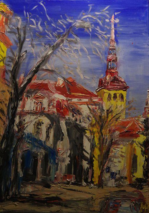 View to Tallinn old town - Mihkel Hollo