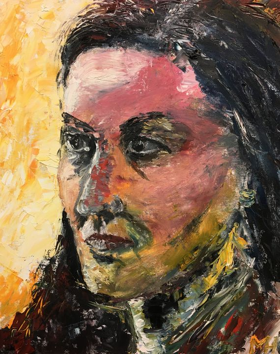 Portrait K. - Mihkel Hollo