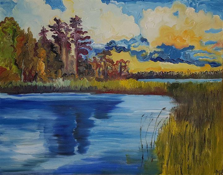 Lake in Saaremaa island - Mihkel Hollo