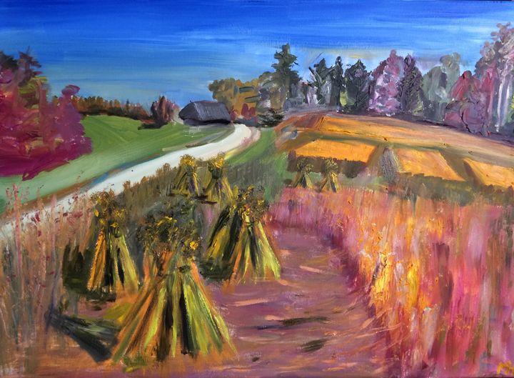 Linen Field - Mihkel Hollo