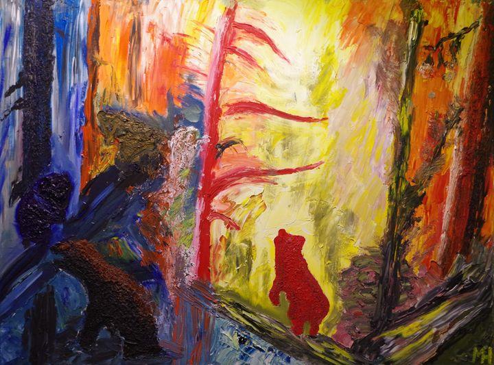 Inspired by Savitsky and Shishkin - Mihkel Hollo