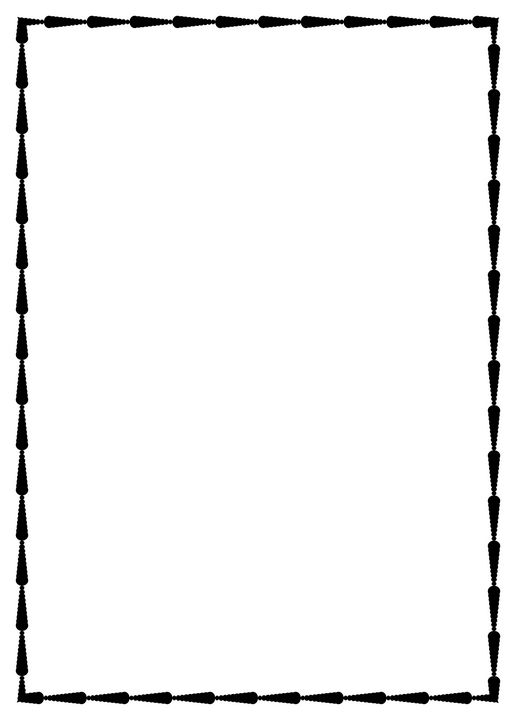 A4 paper design - cilparts