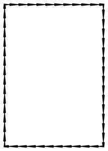 A4 paper design