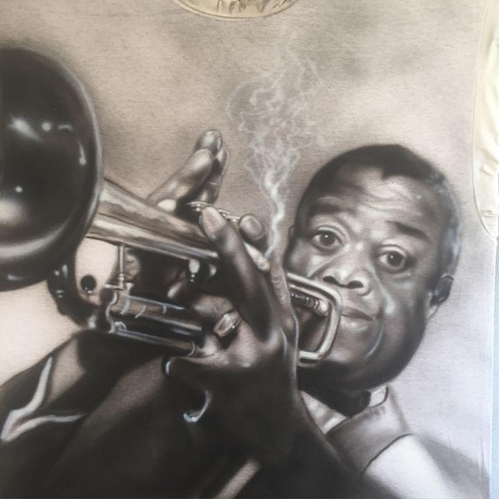 Luis Armstrong (Sachmo) - Jeff's Art