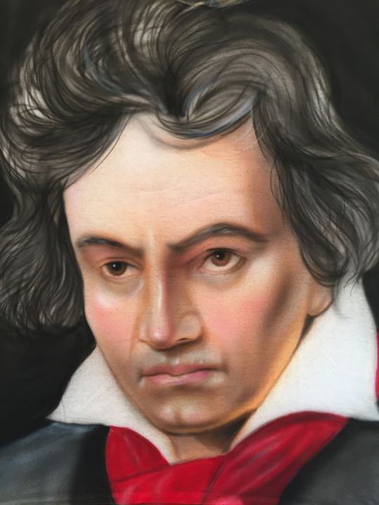 Beethoven portrait - Jeff's Art