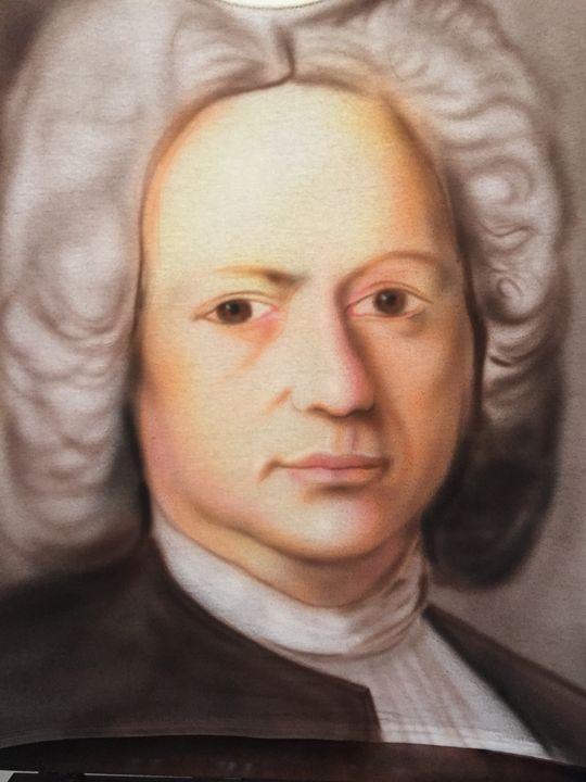 Bach portrait - Jeff's Art